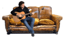 Guitar Couch Lessons | Couch