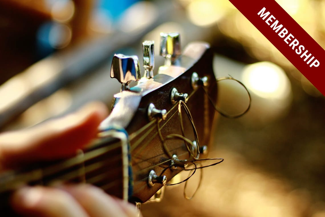 Foundation Guitar Course | Level 1 | Membership | Guitar Couch Lessons