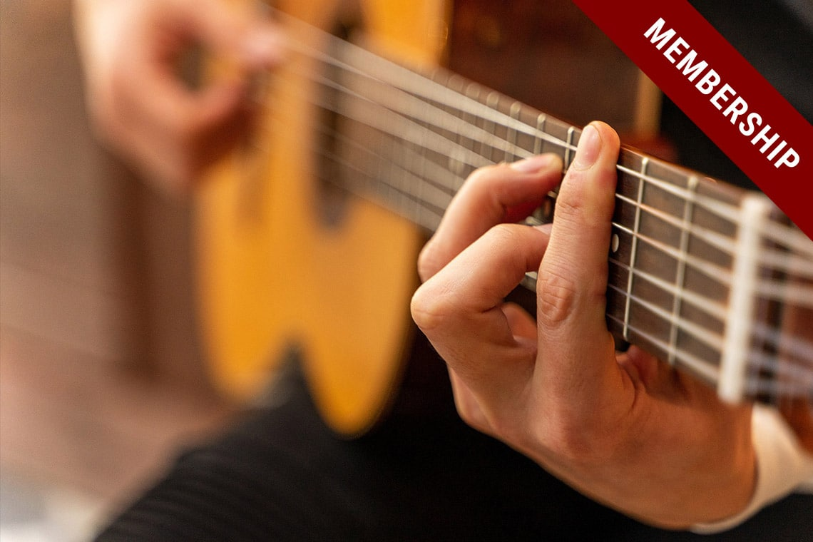 Master Barre Chords | Foundation | Membership | Guitar Couch Lessons